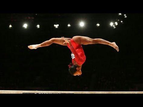 Simone Biles just won her gymnastics world medal, breaking the female record. Preschool Gymnastics, Gymnastics Tricks, Gymnastics World, Gymnastics Skills, Gymnastics Flexibility, Amazing Gymnastics, Acrobatic Gymnastics, Gymnastics Workout, Gymnastics Team