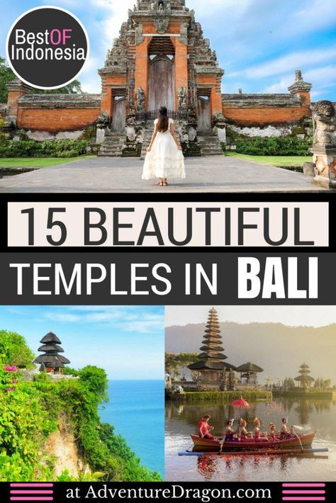 15 Best Temples in Bali Indonesia | Bali Temples Guide | Beautiful Temples | Beautiful Places in Bali | #Bali #Indonesia #Travelphotography #Temples #Beautifulnature #travel #beautiful