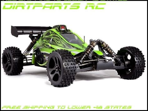 1/5 scale 4 wheel drive 30cc gas