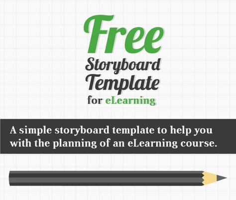 Ultimate List of Free Storyboard Templates for eLearning - free storyboard templates