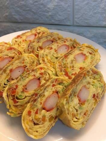 Resep Telur Gulung Crabstick Oleh Siera S Kitchen Resep Telur Gulung Telur Resep