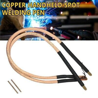DIY Spot Welder Copper Handheld Spot Welding Pen Hole Terminal Connector Set