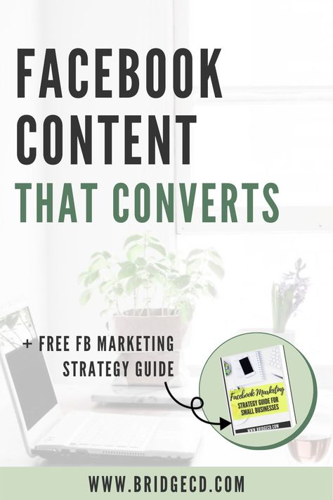 How to create Facebook Content that Converts & turn your followers into paying clients