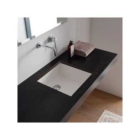 Miky Ceramic Square Undermount Bathroom Sink Bdid Clients