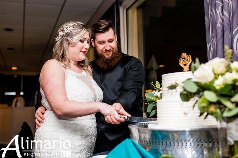 Choose from Stella's or Isgro's for your package-included wedding cake! @alimariophoto #RamblewoodCountryClub #RonJaworskiWedding #RonJaworskiGolf #GolfCourseWedding #OutdoorWedding #WeddingVenue #SouthJerseyWedding #RusticVenue #CakeCutting #WeddingDesserts #WeddingCake