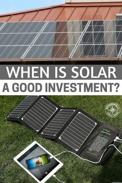 When Is Solar A Good Investment While Many Americans Claim They Don T Understand Wall Street Stocks And Investment Solar Best Solar Panels Solar Energy Diy