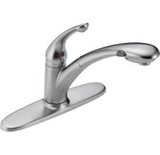 Delta 470 Dst Pull Out Kitchen Faucet Faucet Delta Faucets