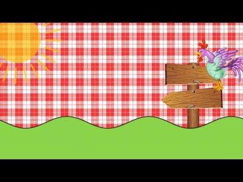 Convite Virtual Animado Tema Fazendinha Gratis Para Baixar E
