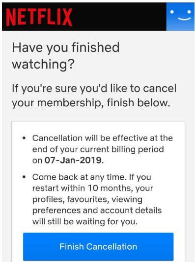 How To Cancel Netflix Subscription On Android Netflix
