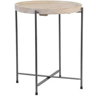 Round Wood Side Tables Wayfair Co Uk With Images Round Wood