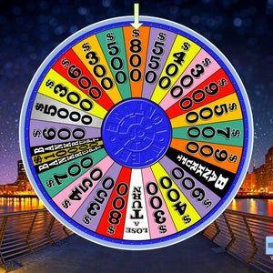 Virtual Party Wheel Style Customizable Etsy Wheel Of Fortune Game Virtual Party Wheel Of Fortune