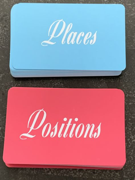 Excited to share this item from my #etsy shop: For Couples--Places & Positions Card Game #sex #cards #carddeck #bridalshowergift #tarotdeck #bacheloretteparty #bachelorette #giftforcouples #funny #couplesgift #couples