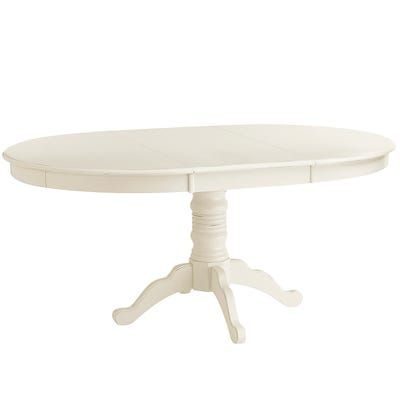 Ronan Extension Antique White Dining Table White Dining Table
