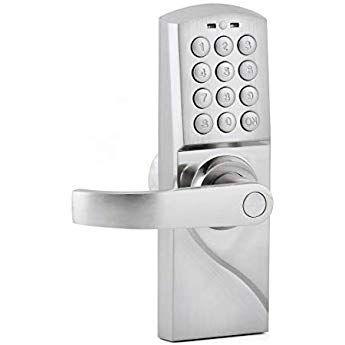 Manhaoya Smart Door Lock Smart Code And Adjustable Hand Digital Lock Emergency Key Left Hand Metal Door Digital Lock Smart Door Locks