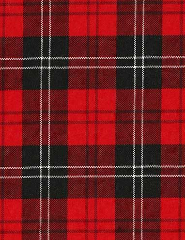 Balmoral Tartan Poly Viscose Fabric Material 150cm wide sold by the metre