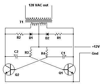 Simplest 12v Dc To 110v Ac Inverter Up To 1kw Esquemas Eletronicos Circuito Eletronico Componentes Eletronicos