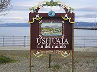 Ushuaia es sede de la Bienal de Arte Contemporáneo del Fin del Mundo.