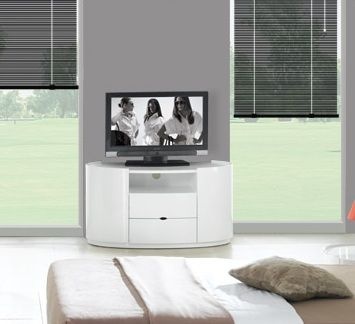 pretty nice bc6a1 6afaf Chanelle Elegance White High Gloss TV Cabinet | Tv cabinets ...