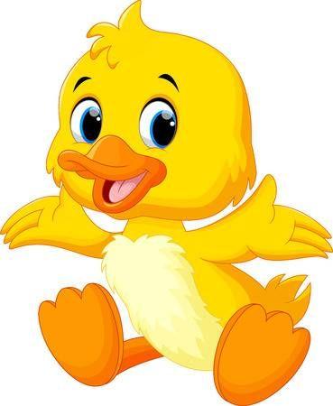 El Lindo Pato Bebe Levanto Sus Alas Imagenes Infantiles De Animales Animales Animados Tiernos Patitos Tiernos