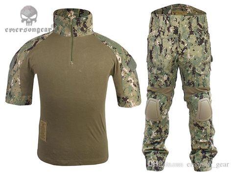 Online Cheap Bdu Uniform Sets Combat Shirt & Pants Emerson Tactical Army…