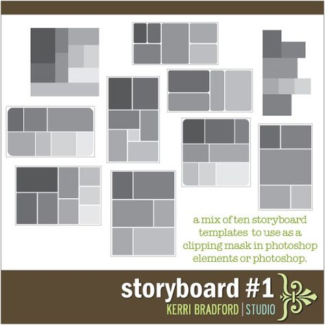 Storyboard Instagram Style » Kerri Bradford Studio Photo - digital storyboard templates