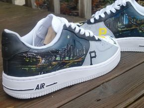 36ddd20105ab2 Pittsburgh-Skyline-Custom-Air-Force-Ones | Nike Air Force 1 's in ...