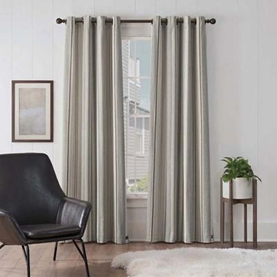 Ugg Lunar Stripe 84 Grommet Room Darkening Window Curtain Panel
