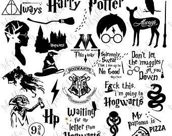 Harry Potter Svg 25 Harry Potter Files Pack Harry Potter Quotes Svg Harry Potter Clipart Svg Files Digital Download Harry Potter Harry Potter Etsy Potter