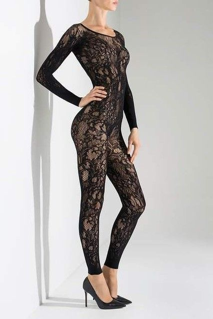 Plus Size Lace Top Thigh High Hold-Up Stockings up to 6XL Elegant and Sexy!