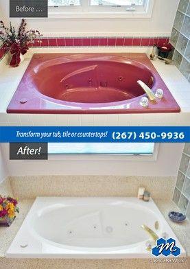 Don T Replace Refinish Bathtub Refinishing Resurfacing Are