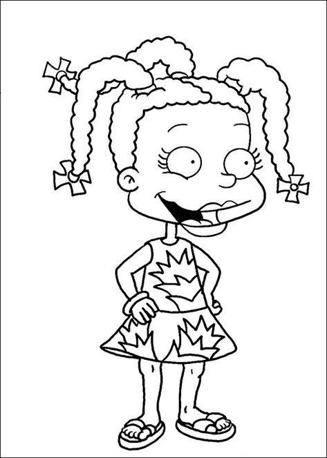 rugrats 17 ausmalbilder für kinder malvorlagen zum