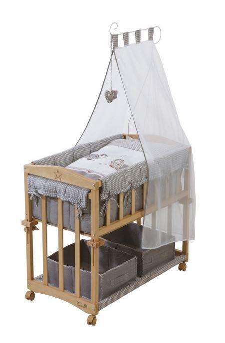 Roba Stubenbett Jumbotwins Stubenbett Stubenwagen Baby Bettwasche