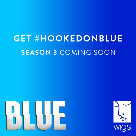 """We're excited to announce that """"Blue"""" is returning for a 3rd Season! Next week, Julia Stiles, Uriah Shelton, Brooklyn Lowe, and many of your favorite """"Blue"""" stars (as well as some new faces) return to WIGS to begin production on Season 3.   Make sure to follow along on WIGS social media sites (such as our new """"Blue"""" Twitter account: http://twitter.com/blueonwigs) for photos, updates and exclusives from set! #BlueS3 #watchwigs www.youtube.com/wigs"""