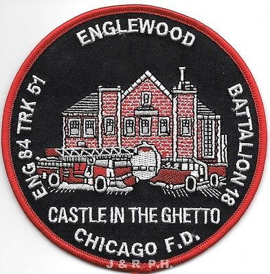 "Ilinois Chicago  Engine-29  /""SOX/"" 4/"" x 4.5/"" size fire patch"