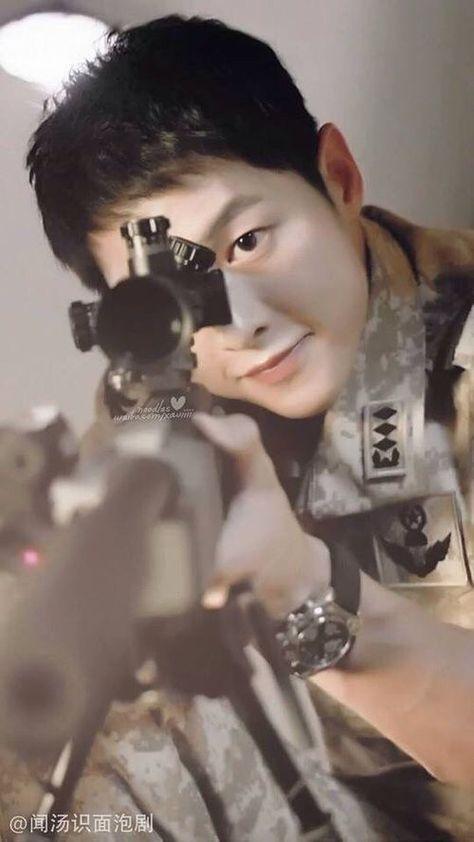 Capt Yoo Si Jin Descendants Of The Sun Ep9 Song Joong Ki