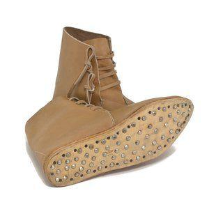 Mittelalter Schuhe Typ London einfach genagelte Sohle