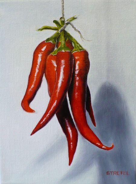 Hot Peppers by Lillemut.deviantart.com on @deviantART