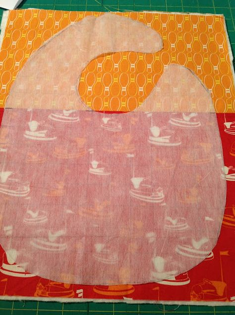 perfect quilted bibs. This looks like an adorable & easy bib pattern!