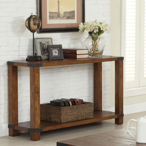 Sensational Furniture Of America Royce Modern Industrial Sofa Table Ibusinesslaw Wood Chair Design Ideas Ibusinesslaworg