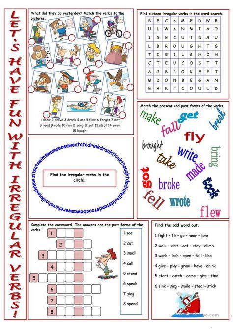 Have Fun with Irregular Verbs!