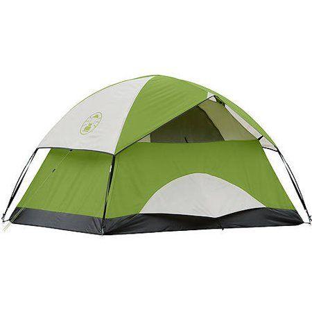 Coleman Sundome 2 Person Dome Tent Green Walmart Com Coleman Tent Tent 2 Person Tent
