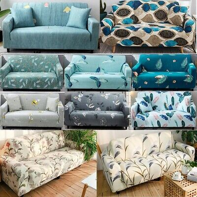 Details About 24 Styles 4 Seater Elastic Fabric Sofa Cover Chair