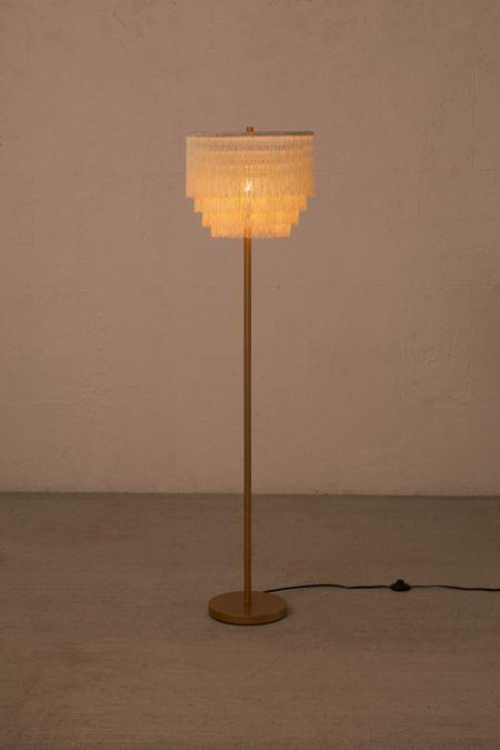 Phoebe Tiered Fringe Floor Lamp Floor Lamp Vintage Floor Lamp Tall Floor Lamps