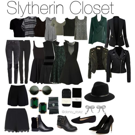 A fashion look from September 2014 featuring Alexander McQueen dresses, Vero Moda dresses and Apiece Apart t-shirts. Browse and shop related looks. Mode Harry Potter, Harry Potter Style, Harry Potter Outfits, Harry Potter Fashion, Movie Inspired Outfits, Themed Outfits, Disney Inspired, Fandom Fashion, Nerd Fashion