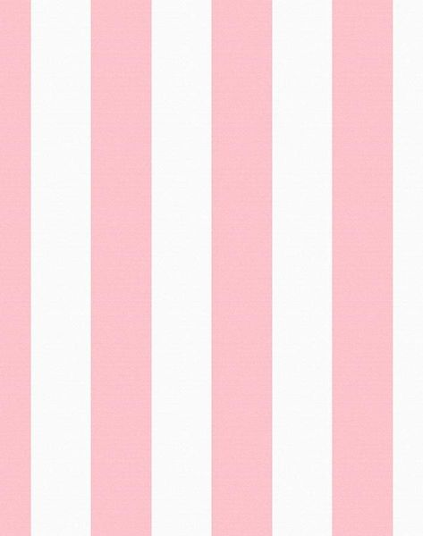 'Candy Stripe' Wallpaper by Wallshoppe - Pink - Removable Panel - Sample