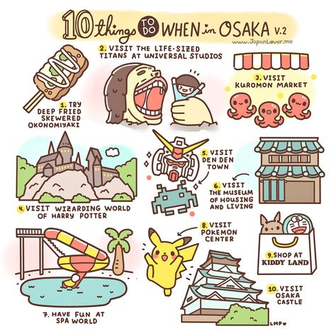 10 Things To Do In Osaka, Japan - Hand Luggage Only - Travel, Food & Home Blog