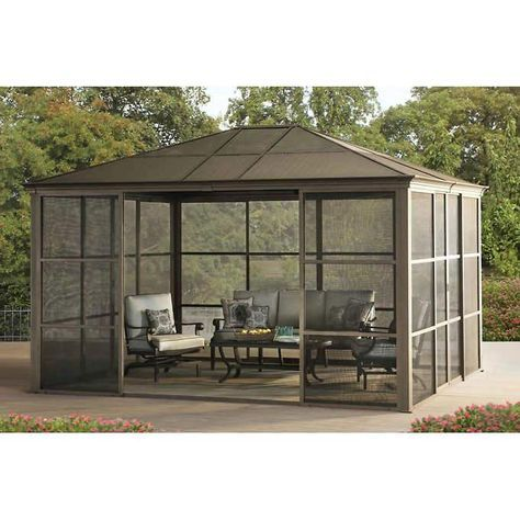Fallbrook Screen Room 12 X 14 Marshall Discounts Domnetta Phillips Marshallsworld Shopify Screened Gazebo Patio Gazebo Pergola Patio