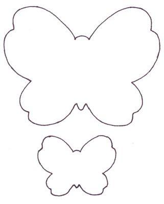 Butterfly template Butterflies Pinterest Borboletas - butterfly template