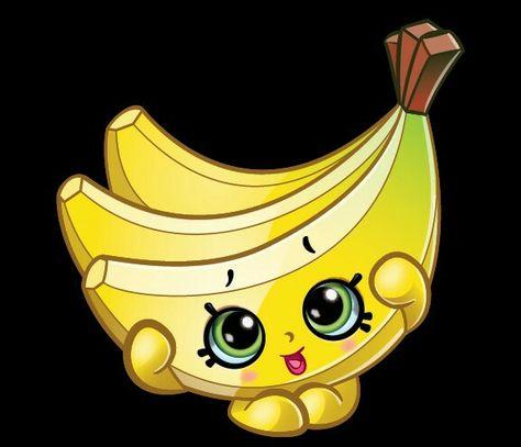 Buncho Bananas Com Imagens Desenhos Kawaii Festa Shopikins