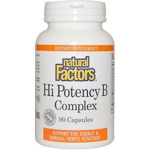 Natural Factors ハイポテンシーbコンプレックス カプセル90粒 Healthy Bones Vitamin C Tablets B Complex